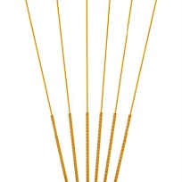 Sterile-acupuncture-needles-full-gold-plated-full-gilded-single-retainer-100-pcs
